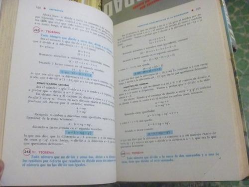 aritmética. baldor. 3a reimp. 1987. cultural, méxico.