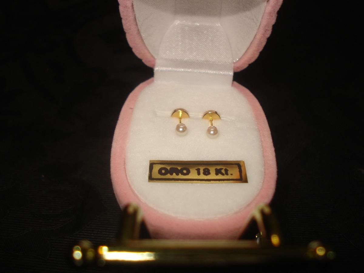 c726e4abe53c aritos abridores perla cultivo oro 18k n2li li bebe adultos. Cargando zoom.