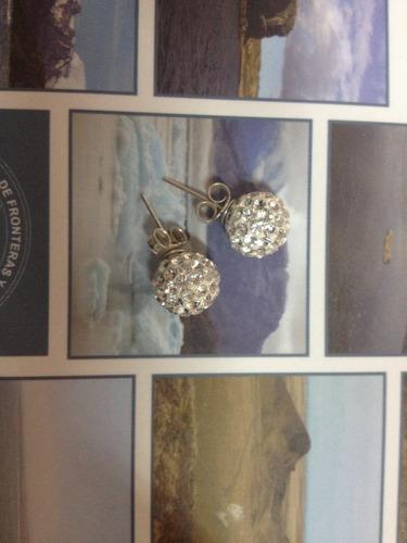aritos plata y perlas oferta $6000