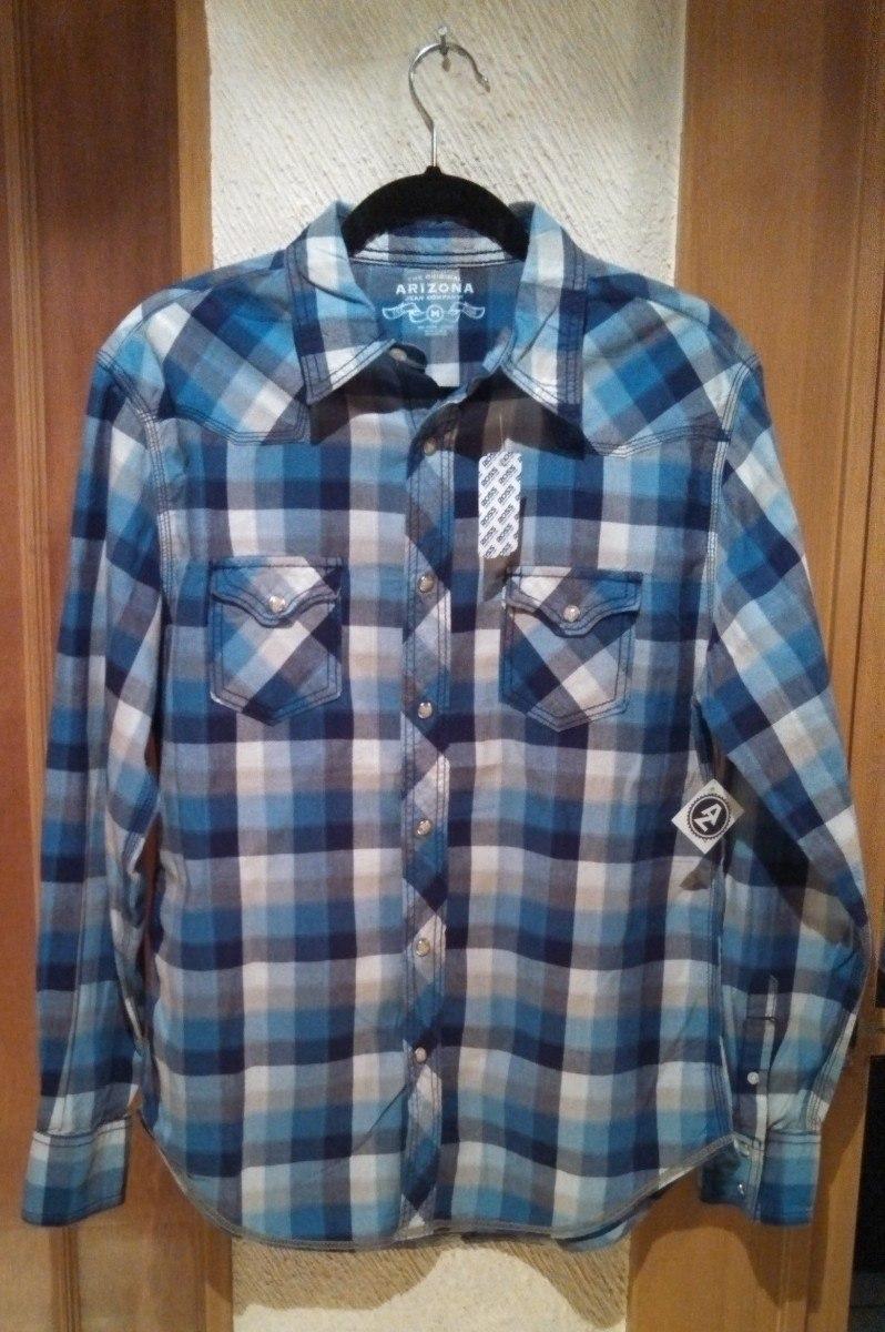 30f7e2f5bf Arizona Camisa Manga Larga A Cuadros