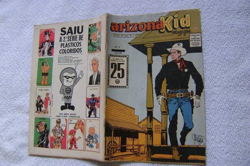 arizona kid magazine nº2 rge raro leia anúncio! .