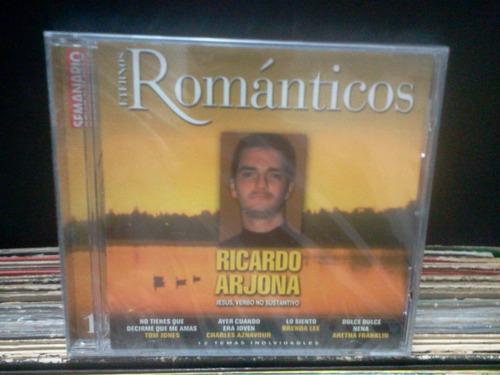 arjona*varios*románticos*cd sellado original*lacapsula
