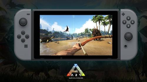ark survival evolved nintendo switch nuevo sellado