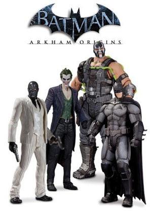 arkham origins joker guason batman bane black mask ps4 vv4
