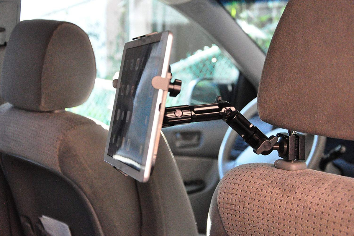 Arkscan Mhdr10 Universal Tablet Headrest Car Mount 360â° D
