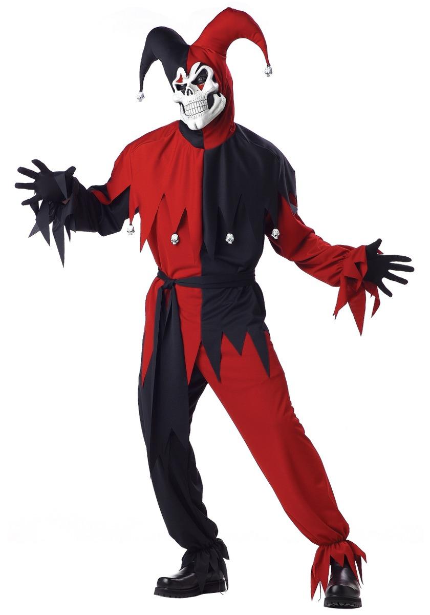 arlequin halloween disfraz para hombre