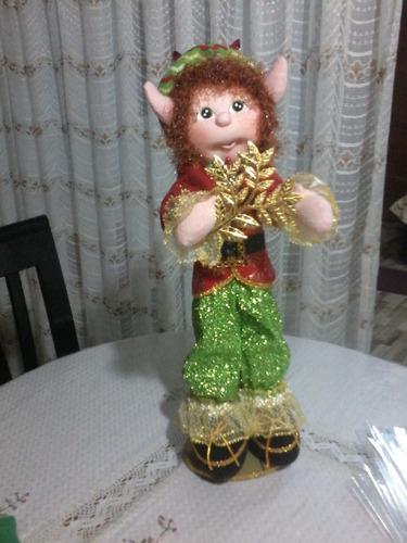 arlequin, papanoel  navideño