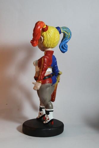 arlequina chubby estatua de rlucenas 24 cm