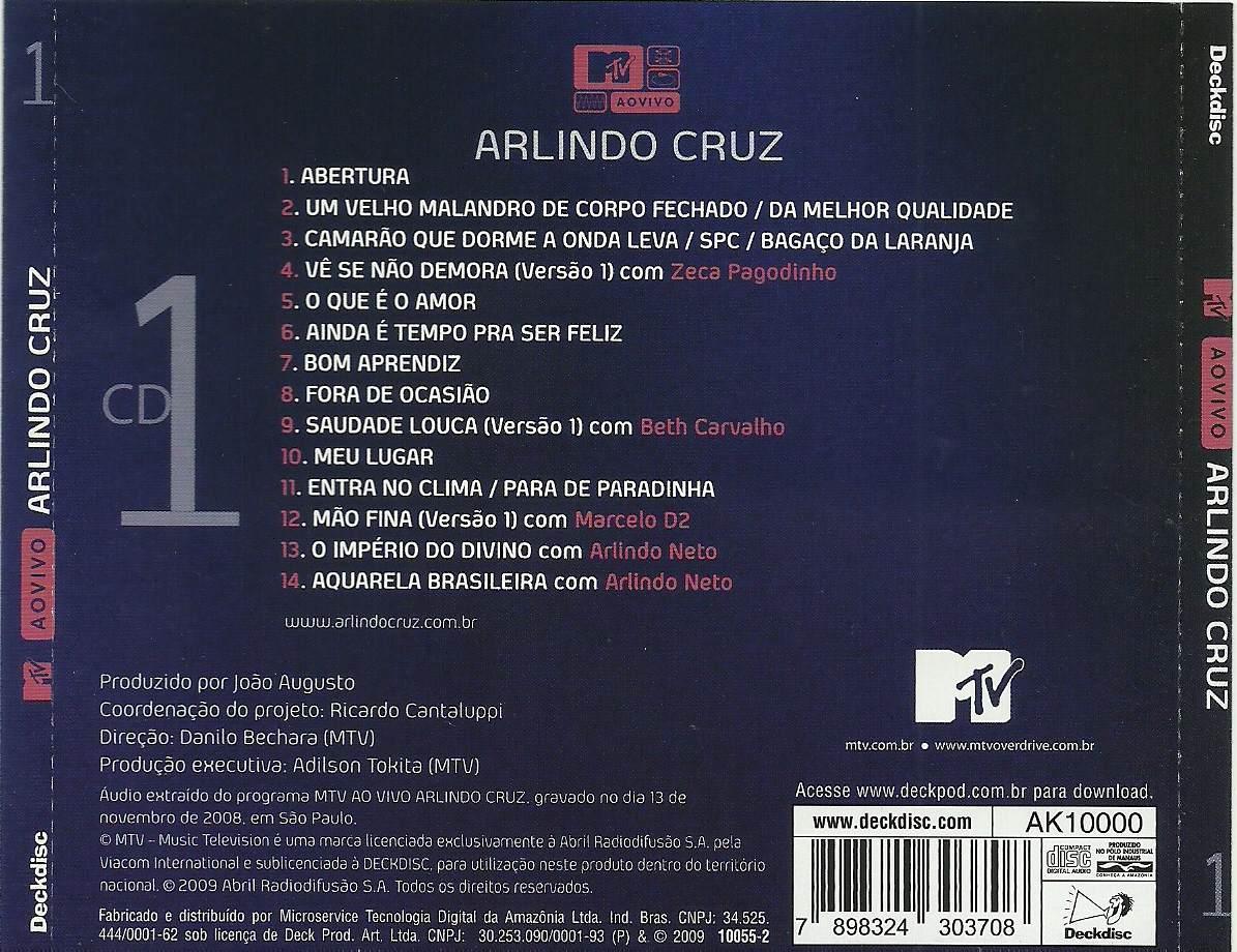 ARLINDO MTV BAIXAR CRUZ DVD