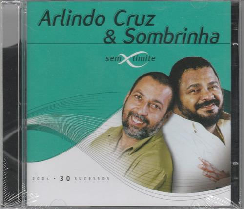 arlindo cruz & sombrinha - cd sem limite - 2 cds - lacrado