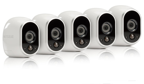 arlo by netgear security system - 6 cámaras hd sin cables