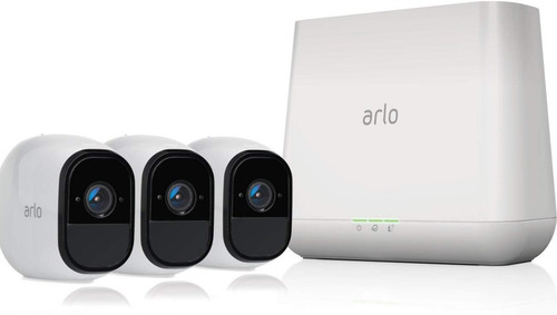 arlo pro - wireless home security camera system with siren |