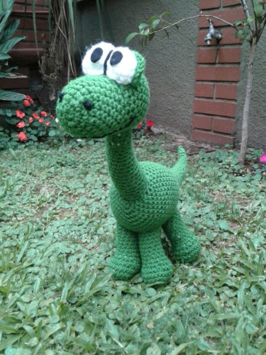Arlo, Un Gran Dinosaurio, Crochet. Grande, 40cm! Macarumis - $ 499 ...