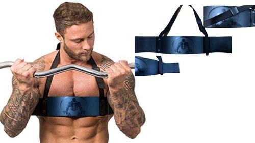 arm blaster barra brazo gym pesas biseps