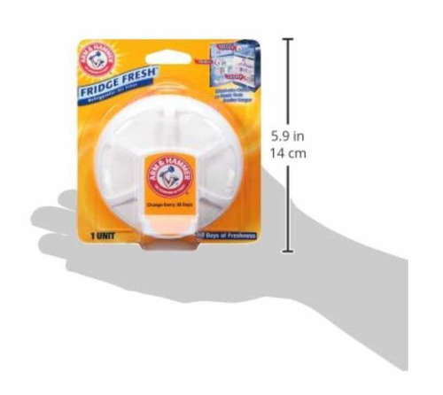 arm & hammer fridge fresh refrigerator air filter, 2 pack