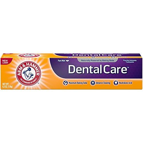 arm - pasta dental hammer dental care, 6.3 oz (paquete de 6)
