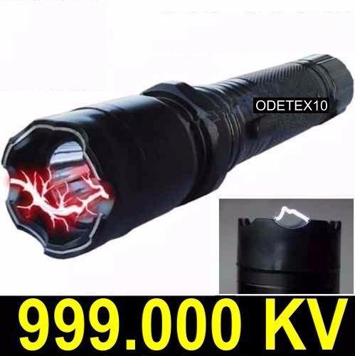 arma de choque 999 milhões volts defesa pessoal potência