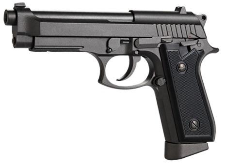 arma pistola beretta p92 balines retroceso metal co2 gas new