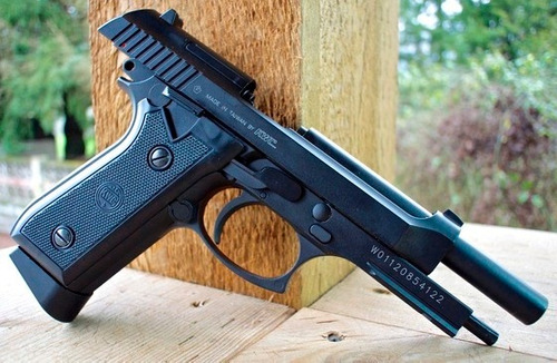 arma pistola beretta p92 balines retroceso metal co2 gas new