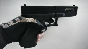 arma pistola marca kwc 6mm glock17 resorte full abs tipo 9mm