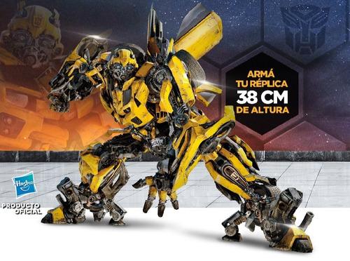 arma transformer bumblebee nº 19 muslo derecho 2