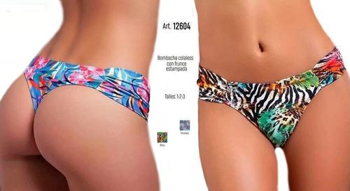 arma tu bikini malla cocot colaless estampada art 12604