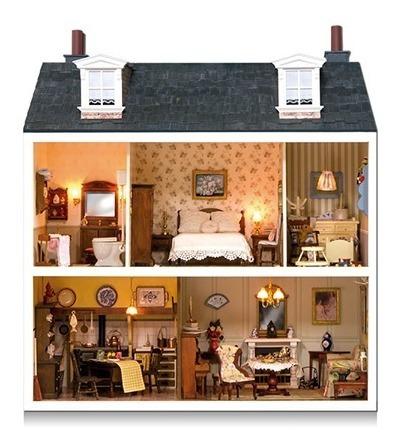 arma y decora tu casa de muñecas estilo victoriano número 1