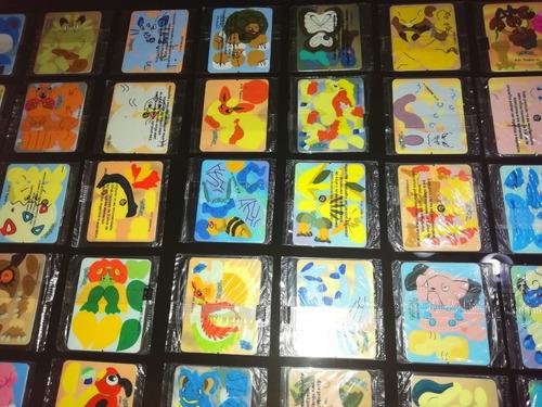 armables pokemon frito lays 2001! - 40 piezas distintas!