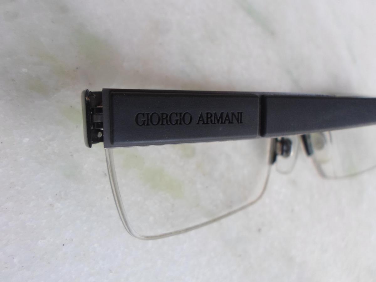 armacao oculos de grau giorgio armani original masculino. Carregando zoom. 4d1be149bd