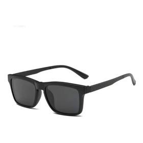 Armação Óculos Grau 6 Em 1 + Clip On Sol E Noite Polarizado