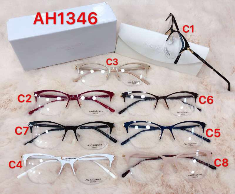 Armacao Oculos Grau Ana Hickman Lancamento Metal - R  169,00 em ... 6a46e591b0