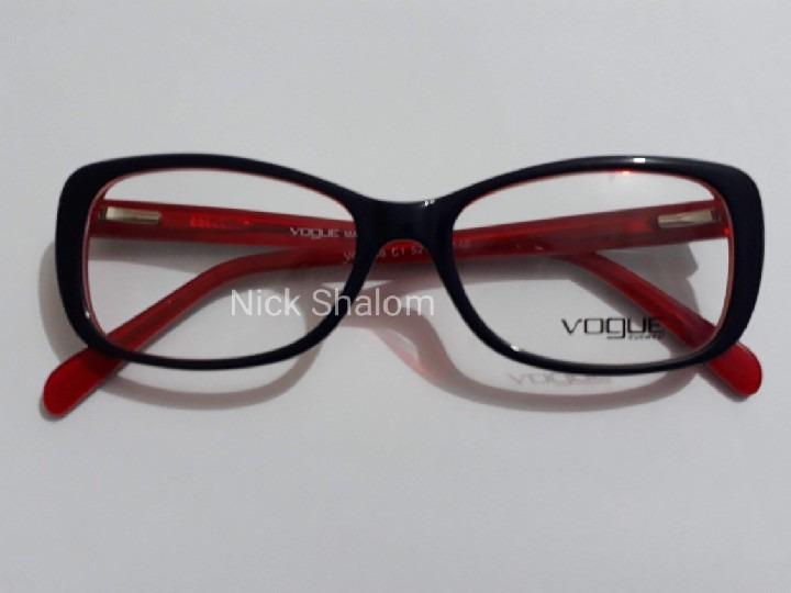 5ee5583c8d17b armaçao oculos grau feminino vogue original acetato