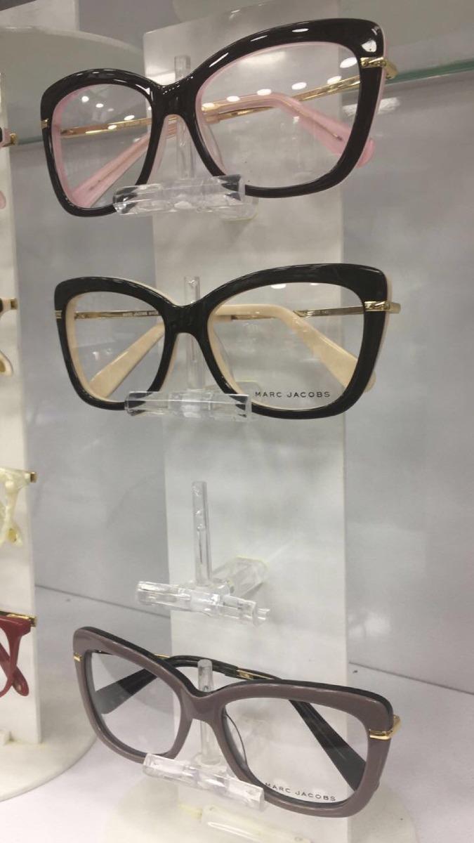 f3f3ac3c4a4ca armacao oculos grau marc jacobs original preta vermelha onça. Carregando  zoom.