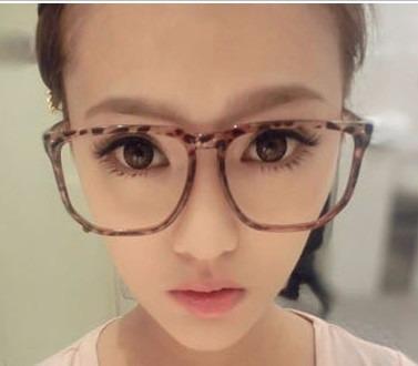 c27022138a61f Armacao Oculos Grau Oncinha Leopardo Geek Fashion Quadrada - R ...