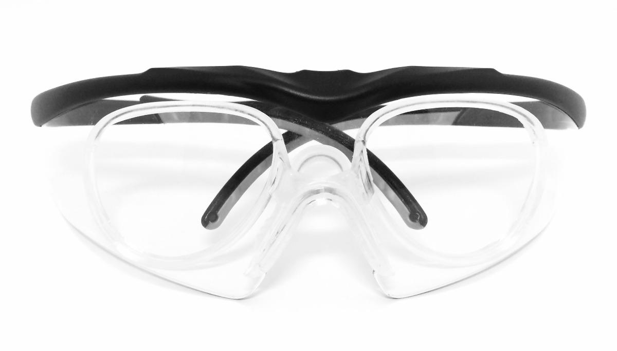 Armacao Oculos Seguranca Clip Lentes De Grau - R  89,99 em Mercado Livre 8e54be1015