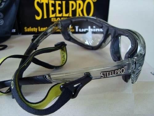 Armacao Oculos Seguranca Para Lente De Grau Steelpro Vicsa - R  48 ... 4baf465aac