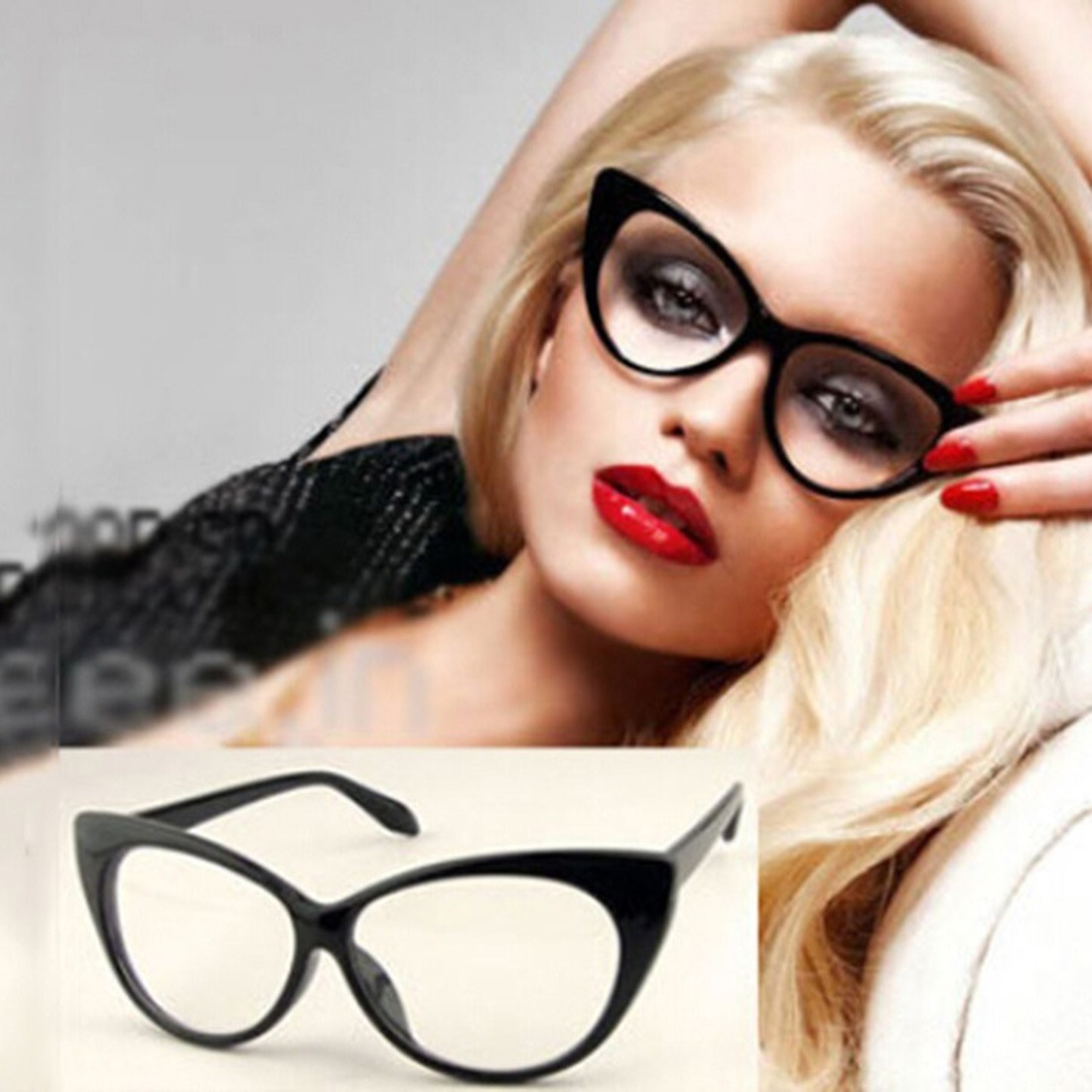 33fd9710f8d93 armacao p  oculos de grau troca lentes feminino moda gatinho. Carregando  zoom.