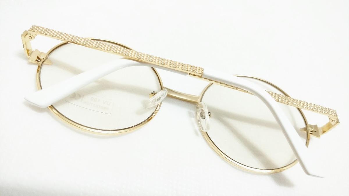 0b0de72c1933a armacao p  oculos feminino lentes otica retro redondo oferta. Carregando  zoom.