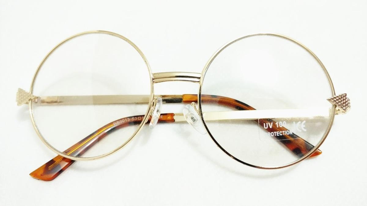dbe0404845da9 Armacao P  Oculos Feminino Moda Redondo - R  19,90 em Mercado Livre