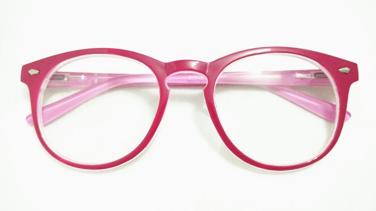 5b14dd14a9791 Armacao P oculos Feminino Moda Retro Redondo Promocao - R  14,90 em ...