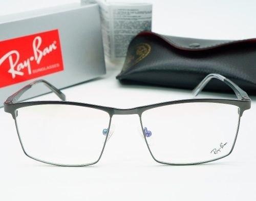 9e2c353e45fe6 Armacao Ray Ban Oculos Grau Masculino Titanio Fechada Cinza - R  120 ...