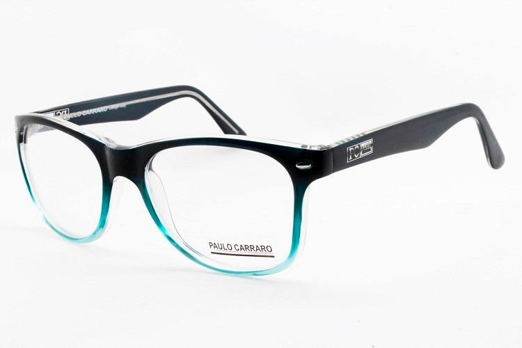 fc9db2c46 Armação Acetato Para Óculos De Grau Modelo 2016 - 6015 - R$ 129,00 ...