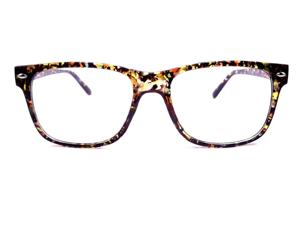 armação adulto colorida geek óculos lentes sem grau rb5102p. Carregando  zoom. 2aa40ba95d