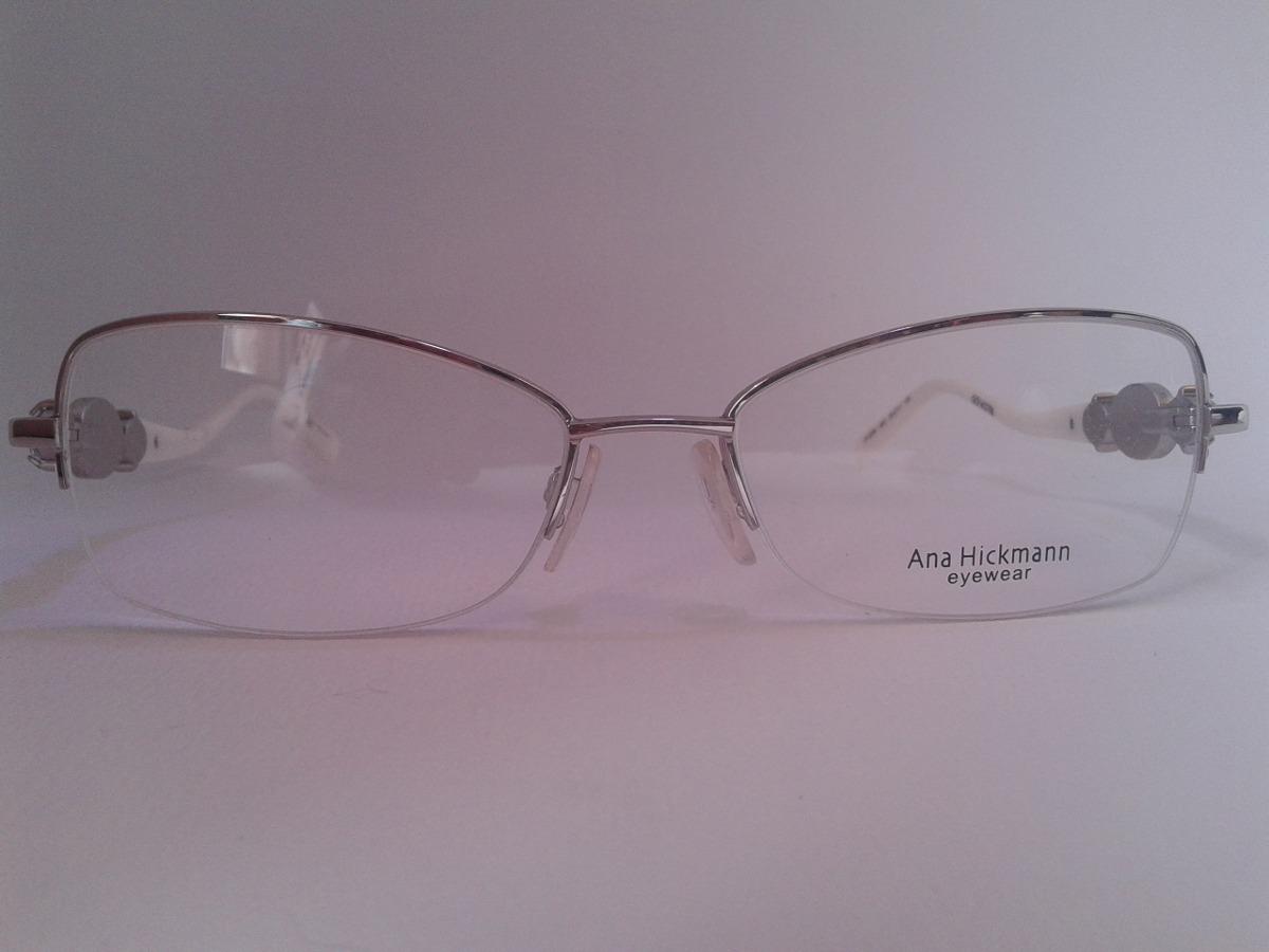 45944c2d8802f armação ana hickman óculos grau ah126403a metal prat ref940. Carregando  zoom.