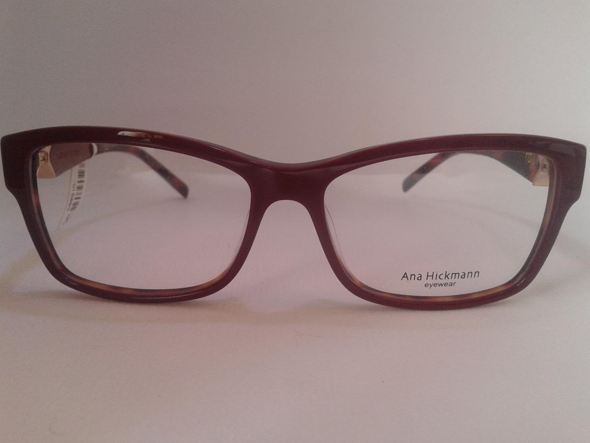 armação ana hickmann óculos grau ah6202 h05 acetato integral. Carregando  zoom. 066d0f509c