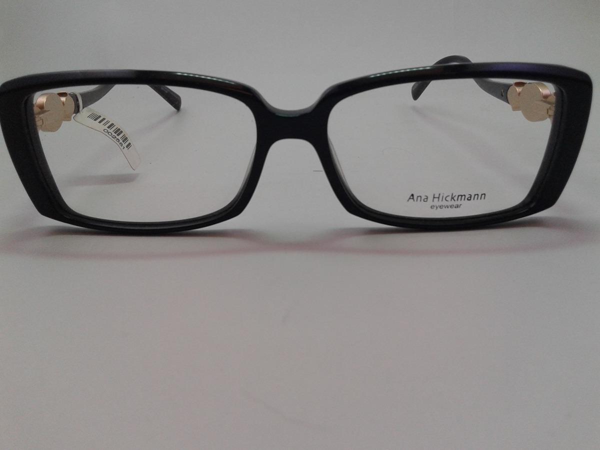 armação ana hickmann oculos para grau ah6224 a01 preto. Carregando zoom. 721030dcbf