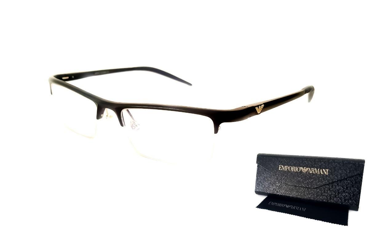 bd4d3d6c10d7a Armação Armani Óculos Grau Masculino Feminino Alumínio - R  89,00 em ...