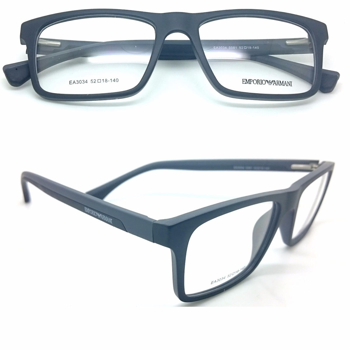 c09e004c6 armação armani p/ óculos grau masculina feminina com brinde. Carregando  zoom.