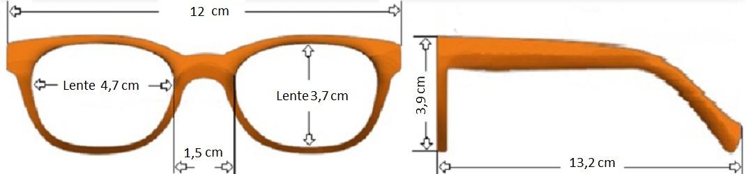armação aviador metálica infantil caçador óculos lentes grau. Carregando  zoom. 9572b78c5e