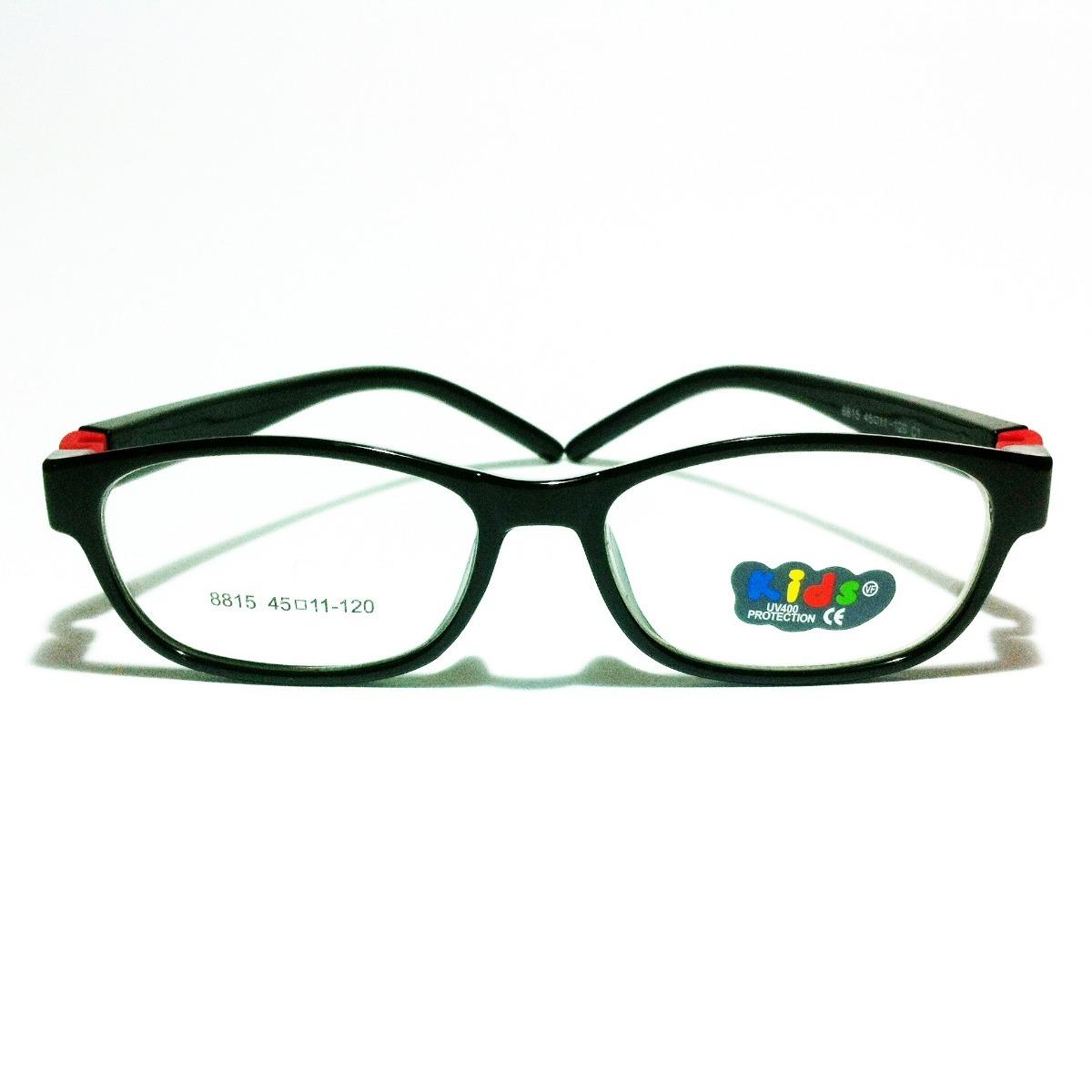 armação colorida infantil criança óculos lentes de grau 8815. Carregando  zoom. ac8625ad19